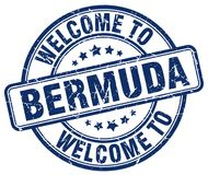 Welcome to Bermuda stamp. Welcome to Bermuda round grunge stamp isolated on white background. Bermuda. welcome to Bermuda stock illustration