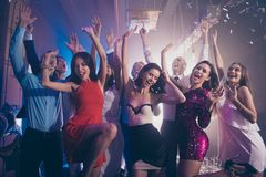 Welcome to the best night party Leisure, lifestyle, careless, c stock image