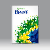 Welcome to Brazil cover Royalty Free Stock Images
