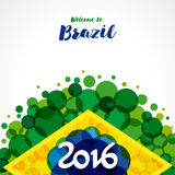 2016 welcome to Brazil Stock Images