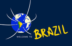Welcome to Brazil Stock Images