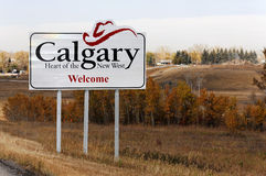 Welcome to Calgary Royalty Free Stock Image