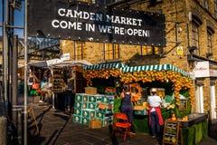 Camdem Market stock photos