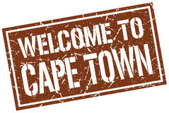 Welcome to Cape Town. Stamp vector illustration