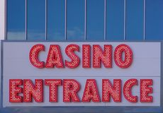 Welcome to Casino! Royalty Free Stock Photos