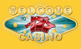 Welcome to Casino Royalty Free Stock Photography