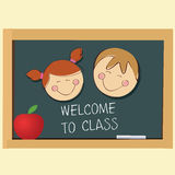 Welcome to class Royalty Free Stock Photography