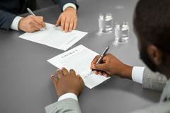 Welcome to the company. Royalty Free Stock Photo