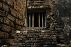 Welcome  to the Darkness. I took the picture from an ancient palace.  This historical palace is now abandon. Once there was everything... Now.. Nothing. Local Royalty Free Stock Photography