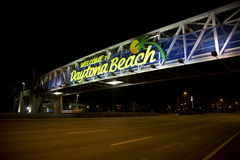 Welcome to Daytona Beach Royalty Free Stock Photography