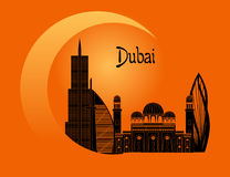 Welcome to dubai Royalty Free Stock Image
