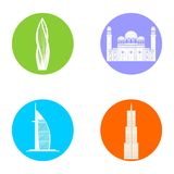 Welcome to dubai Royalty Free Stock Photography