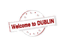 Welcome to Dublin Royalty Free Stock Photos
