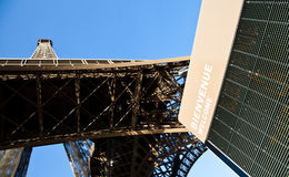 Welcome to Eiffel Tower Stock Photography
