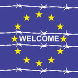 Welcome to Europe Royalty Free Stock Images