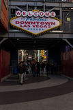 Welcome to Fabulous Downtown Las Vegas Stock Photos