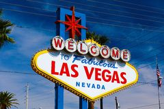 The Welcome to Fabulous Las Vegas sign Royalty Free Stock Image
