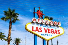 The Welcome to Fabulous Las Vegas sign Royalty Free Stock Photo