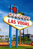 The Welcome to Fabulous Las Vegas sign Stock Photo
