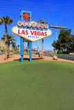Welcome to Fabulous Las Vegas sign, Nevada Stock Photography