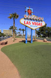 Welcome to Fabulous Las Vegas sign, Nevada Stock Images