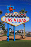 Welcome to Fabulous Las Vegas sign, Nevada Stock Image