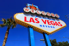 Welcome to Fabulous Las Vegas sign, Nevada Stock Photo