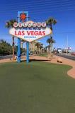 Welcome to Fabulous Las Vegas sign, Nevada Stock Photos