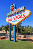 Welcome to Fabulous Las Vegas sign, Nevada Stock Photo