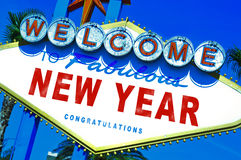Welcome to fabulous new year Stock Images
