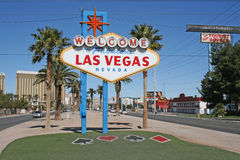 Welcome to fabulouse Las Vegas Royalty Free Stock Image