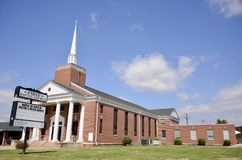 First Baptist Church, Jackson, Tennessee Royalty Free Stock Photography