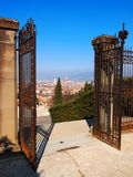 Welcome to Florence. City view from the hill, photo was taken in February Royalty Free Stock Image