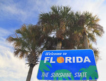 Welcome to Florida sign Royalty Free Stock Images