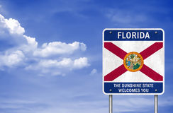 Welcome to Florida state Stock Photo