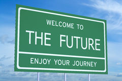 Welcome to the Future concept Royalty Free Stock Images