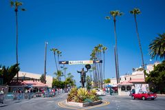 Welcome to Goodguys car show 2015 in Del Mar, California stock photo