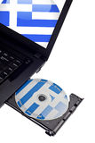 Welcome to Greece CD Stock Image