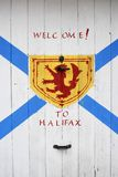 Welcome to Halifax Sign Stock Images