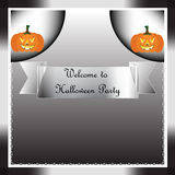 Welcome to Halloween Party background Royalty Free Stock Photography