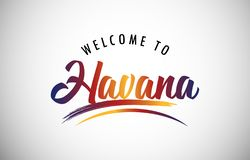 Welcome to Havana royalty free stock images