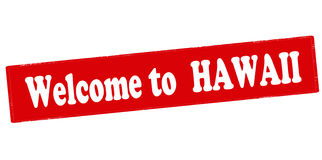Welcome to Hawaii Royalty Free Stock Photos