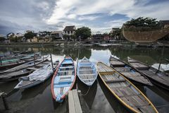 Binh Duong city, viet nam. Welcome to Hoi An city, wonderful and romantic stems of Vietnam Royalty Free Stock Image