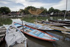 Binh Duong city, viet nam. Welcome to Hue City, wonderful and romantic stems of Vietnam Royalty Free Stock Images