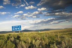 Welcome To Idaho Stock Photography
