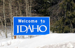 Welcome to Idaho Royalty Free Stock Images