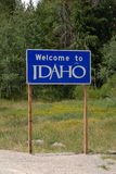 Welcome to Idaho Stock Image