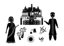 Welcome to india Royalty Free Stock Images