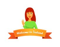 Welcome to Ireland Royalty Free Stock Photo