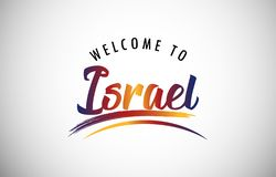 Free Welcome To Israel Royalty Free Stock Photography - 129179967